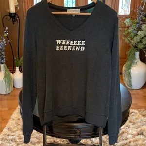 Wildfox weekend jumper size medium NW0T
